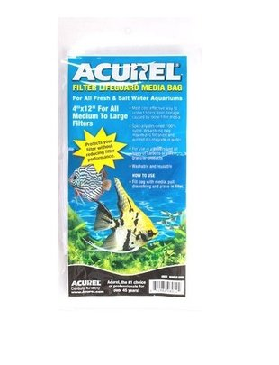 "Acurel Filter Media Bag with Drawstring (4""x12"", Medium) Acurel"
