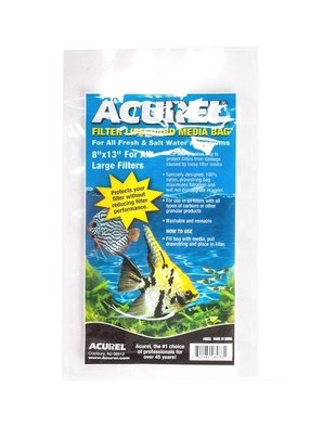 "Acurel Filter Media Bag with Drawstring (8""x13"", Large) Acurel"