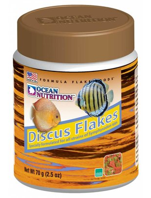 Ocean Nutrition Discus Flake Food (2.5oz) Ocean Nutrition