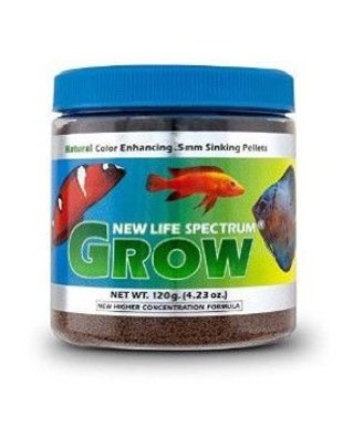 New Life Spectrum Grow 0.5mm Sinking Pellet Salt/Fresh (120g) New Life Spectrum