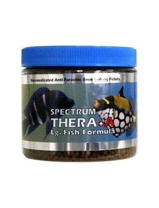 New Life Spectrum Thera A Large Fish 3mm Sinking Pellet Salt/Fresh - New Life Spetrum