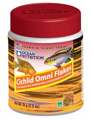 Ocean Nutrition Cichlid Omni Flake Food - Ocean Nutrition