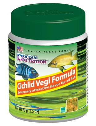 Ocean Nutrition Cichlid Vegi Flake Food - Ocean Nutrition