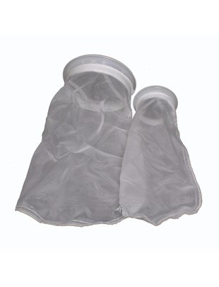 "Tideline Nylon Mesh Filter Sock with Plastic Ring (7"") Tideline"