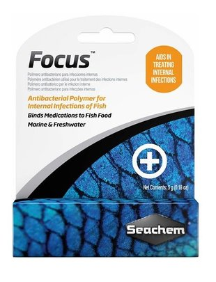 Seachem Seachem Focus Antibacterial Treatment (5g) Glass Aquatics