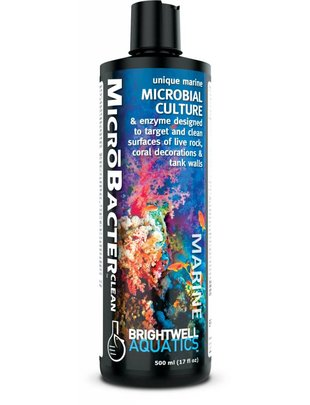 BrightWell Aquatics Brightwell Aquatics MicroBacter CLEAN (500mL) Glass Aquatics