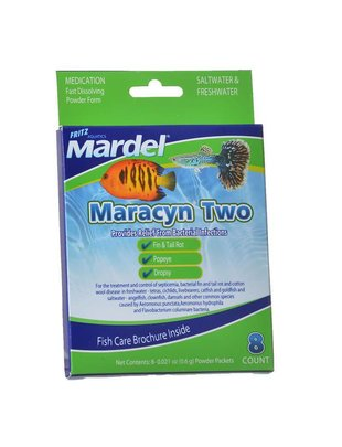 Fritz Aquatics Maracyn Two Bacterial Treatment - Fritz Mardel