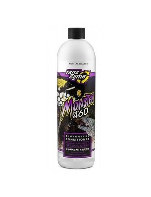 Fritz Aquatics Monster 460 Bacterial Aquarium Cleaner for Saltwater - Fritz