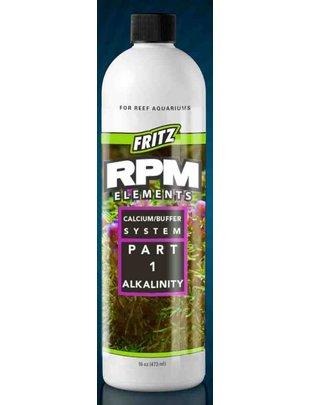 Fritz Aquatics RPM Elements Liquid Calcium Buffer System - Part 1 Alkalinity - Fritz