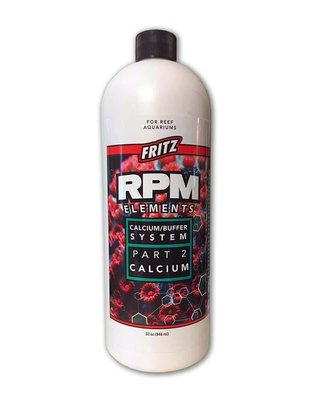 Fritz Aquatics RPM Elements Liquid Calcium Buffer System - Part 2 Calcium - Fritz