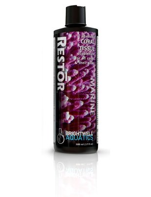 BrightWell Aquatics Restor Advanced Coral Tissue Supplement - Brightwell Aquatics