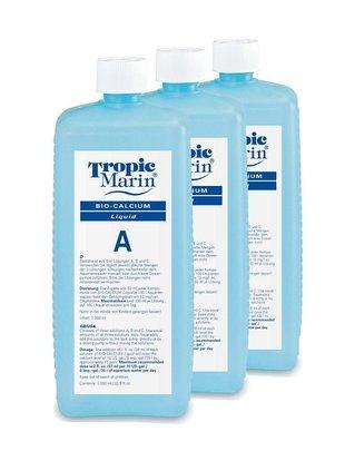 Tropic Marin Bio-Calcium Original Balling Liquid Set (A+B+C, 3 x 1L) Tropic Marin