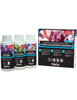 Red Sea Reef Foundation Starter Pack ( 3x250ml) Red Sea