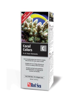 Red Sea Reef Colors C (Iron/Trace, 500ml) Red Sea