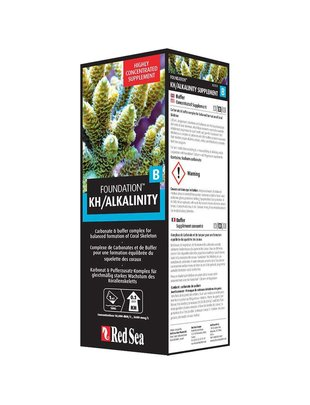 Red Sea Reef Foundation B KH / Alkalinity Liquid Supplement (500ml) Red Sea