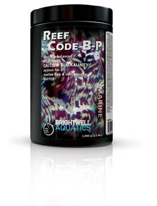 BrightWell Aquatics Reef Code B-P Powder Balanced Calcium & Alalinity System (Alkalinity, 500g) Brightwell Aquatics