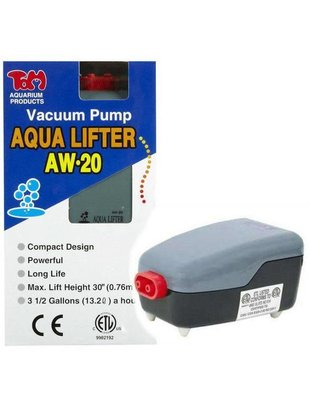 KollerCraft Tom Aqua Lifter Vacuum Dosing Pump (AW-20) Tom Aquatics