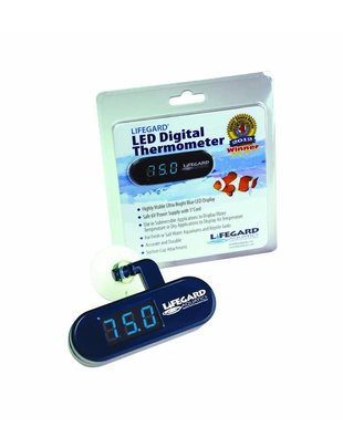 Lifegard Aquatics LED Digital Thermometer - Lifegard Aquatics