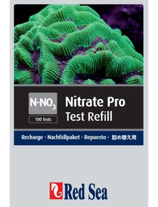 Red Sea Nitrate Pro Reagent Refill Kit (NO3) Red Sea