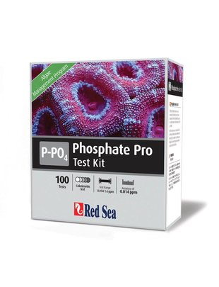 Red Sea Phosphate Pro Test Kit (PO4) Red Sea