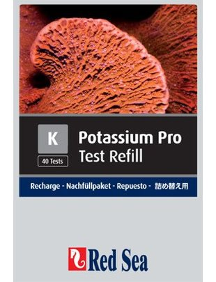 Red Sea Potassium Pro Reagent Refill Kit (K) Red Sea