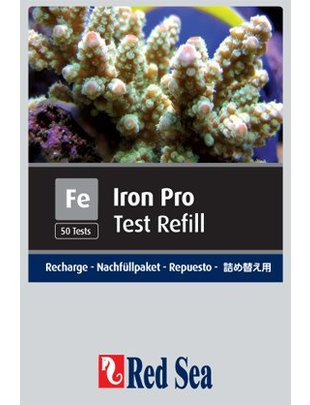 Red Sea Iron Pro Reagent Refill Kit (Fe) Red Sea