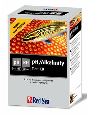 Red Sea MCP pH & Alkalinity Test Kit (pH/KH) Red Sea