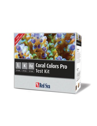 Red Sea Trace Colors Pro Test Kit (I2, K, Fe) Red Sea