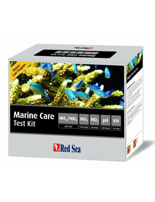 Red Sea MCP Marine Care Test Kit (pH, kH, NH3, NH4, NO2, NO3) Red Sea