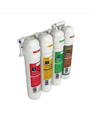 Aquatic Life Twist-In 4-Stage RO/DI Water Filtration System (100GPD) Aquatic Life