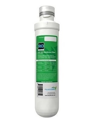 Aquatic Life Twist-In Replacement TFC Membrane Cartridge Filter (100GPD) - Aquatic Life