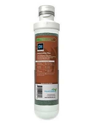 Aquatic Life Twist-In Replacement Deionization (DI) Cartridge Filter - Aquatic Life