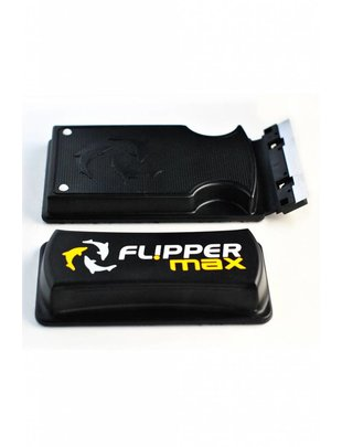 "Flipper MAX Aquarium Algae Magnet Cleaner (up to 1"") Flipper"