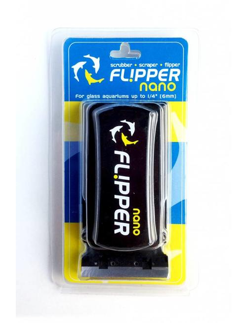 """Flipper Nano Aquarium Algae Magnet Cleaner (up to 1/4"""") Flipper"""