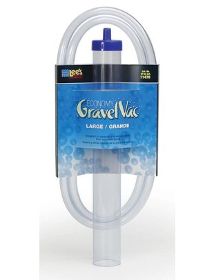 """Lee's Aquarium Economy Gravel Vacuum (Large, 2"""" x 16"""") Lee's"""