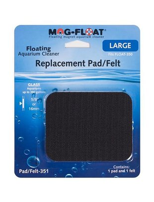 Mag-Float Replacement Pad/Felt For Float 350 (Glass) Mag-Float