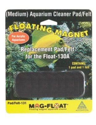 Mag-Float Replacement Pad/Felt For Float 130A (Acrylic) Mag-Float