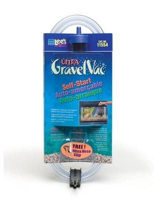 """Lee's Aquarium Self-Start Gravel Vacuum w/ Nozzle (Small, 1.6"""" x 9"""") Lee's"""