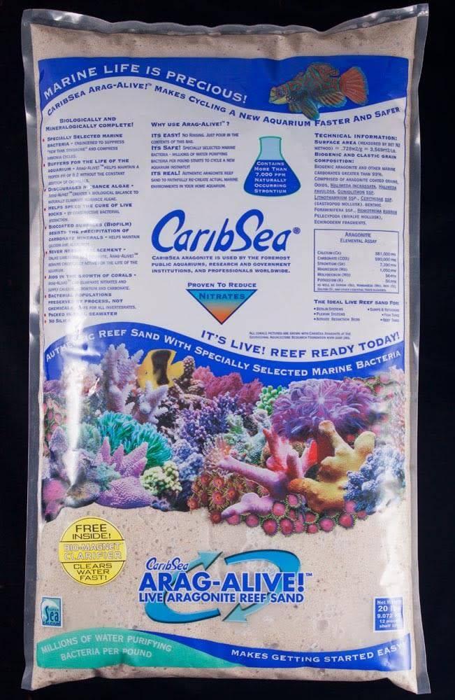 Carib Sea Arag-Alive 20-Pound Fiji Pink Sand