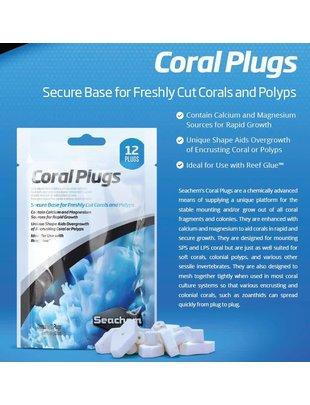 Seachem Coral Plugs (12 pack) SeaChem
