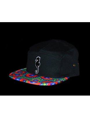 CoralWear Eagle Eye Zoa Black Crown Hat - CoralWear