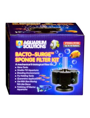 Bacto-Surge Foam Sponge Filter - Aquarium Solutions