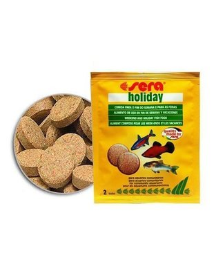 Holiday / Vacation Food Tablet (2pk) Sera