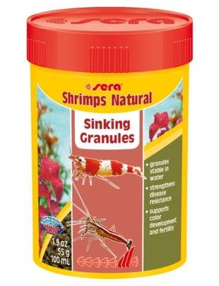 Shrimps Natural Pellet Food (100ml) Sera