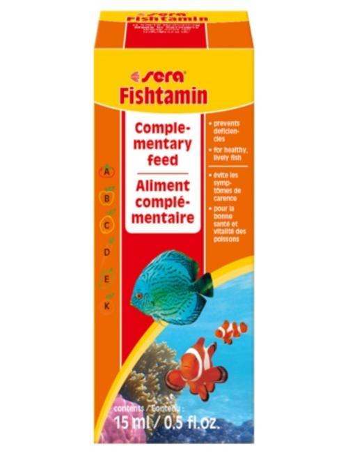 Fishtamin Vitamins (15ml) Sera