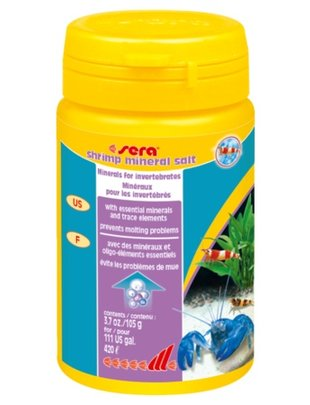 Mineral Salt for Shrimp (3.7oz) Sera