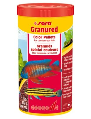 Granured Cichlid Sinking Color Pellets (1000ml) Sera