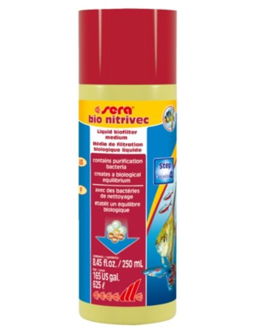 Bio Nitrivec Water Conditioner w/ Bacteria (250ml) Sera
