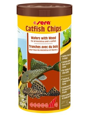 Catfish Chips, Wafers with Wood (13.4oz/1000 ml) Sera