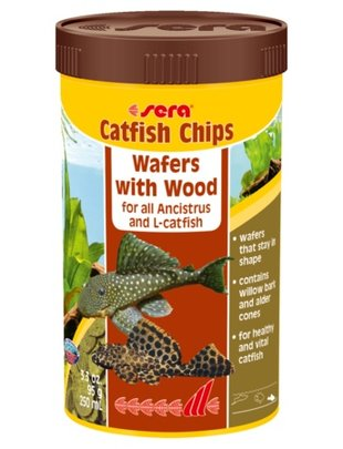 Catfish Chips, Wafers with Wood (3.88oz/250 ml) Sera